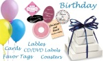 Make your birthday celebration more special with gifts that are personalized with superior quality custom designed labels